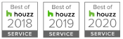 Goodner Brothers Awarded Best of Houzz for Service 2018, 2019, 2020