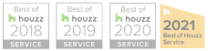 Goodner Brothers Awarded Best of Houzz for Service 2018, 2019, 2020, 2021